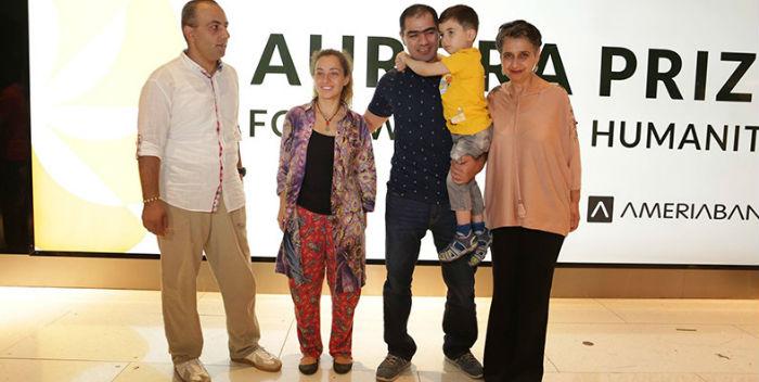 Ödül nöbetini devralan doktorlar Yerevan'a döndü