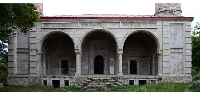 Şuşi'deki Gohar Ağa Camii restore ediliyor