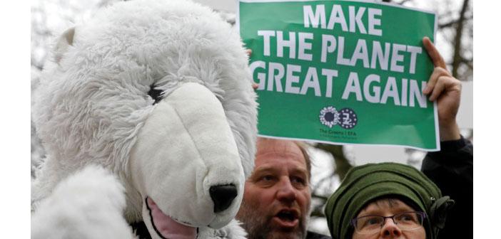Trump'tan gezegene darbe: ABD Paris Anlaşması'ndan çekiliyor