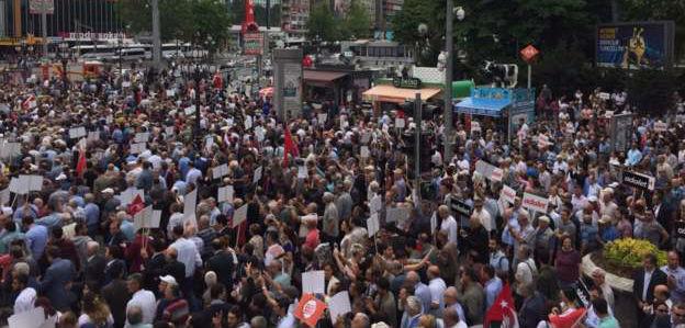 CHP'nin 'Adalet Yürüyüşü' başladı
