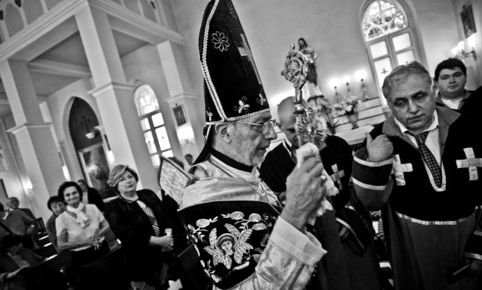 Kerabaydzar Zekiyan'ın ruhanilikteki 50. yılı kutlandı