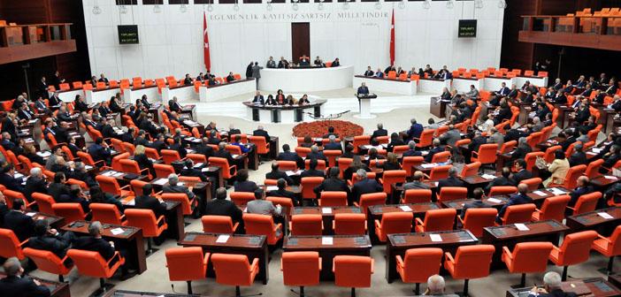Tartışmalı İçtüzük teklifi Meclis Genel Kurulu'nda