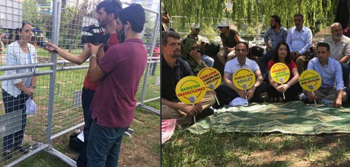HDP'den 'nöbete ses verin' çağrısı