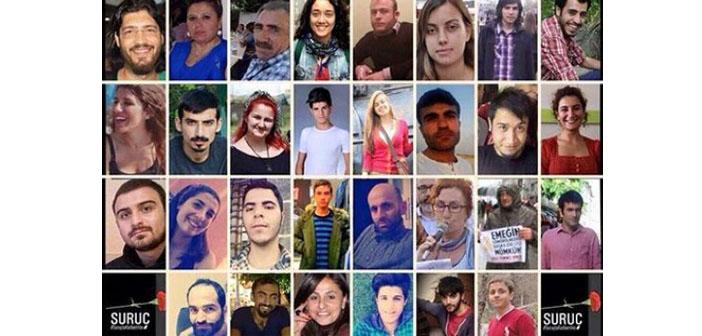 Suruç katliamı davasının ikinci duruşması 14 Temmuz'da