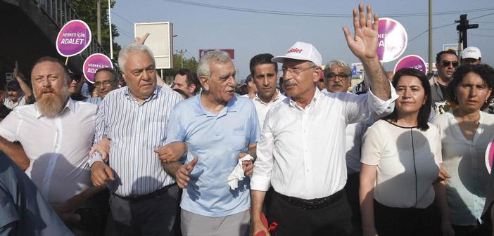 HDP: Adalet Mitingi'ne katılacağız