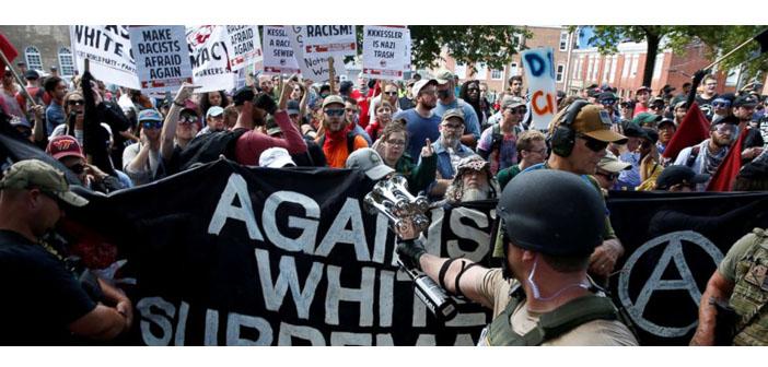 Trump, Charlottesville'de ırkçılık karşıtlarını da suçladı