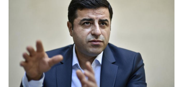 Savcılığın Demirtaş'la ilgili 'terör örgütü üyesi' ifadesine suç duyurusu