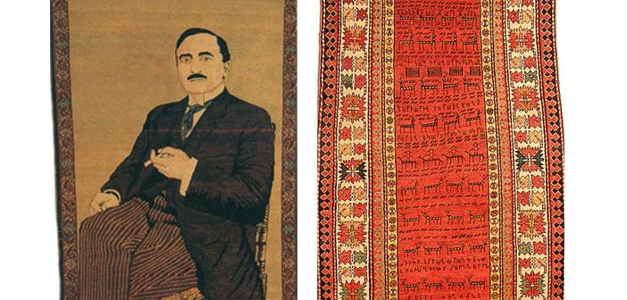 Tarihe tanıklık eden iki Ermeni halısı