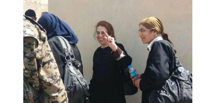 SDG Rakka'dan iki Ermeni aileyi kurtardı