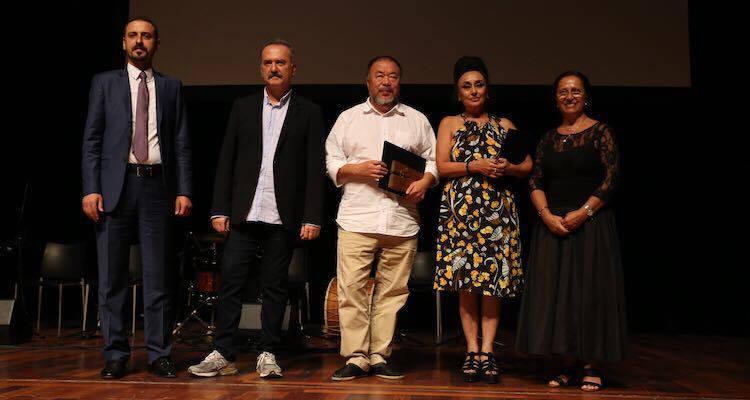 9. Hrant Dink Ödülü Eren Keskin ve Ai Weiwei'nin