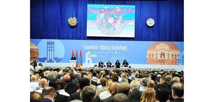 Diaspora Konferansı Ermenistan'da devam ediyor