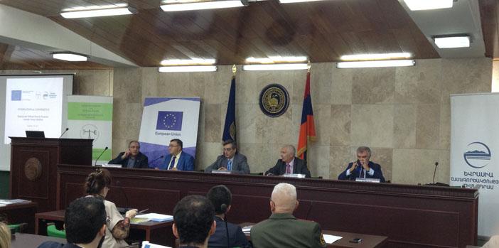 """Yerevan'da """"Ermenistan-Türkiye İlişkileri"""" Konferansı"""
