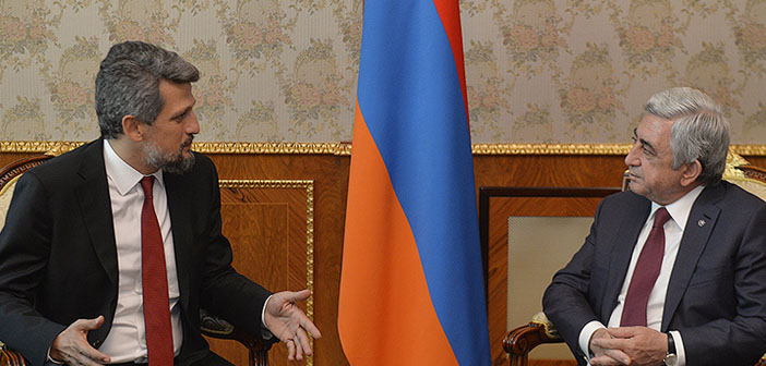 """'Demokratik Türkiye Ermenistan'ın da lehine"""""""