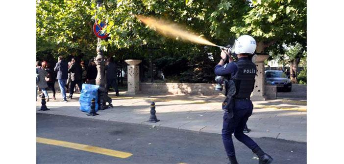 10 Ekim katliamı anmasına polis saldırısı
