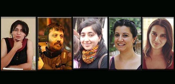 Ankara'da ev baskınlarıyla beş gazeteci gözaltına alındı