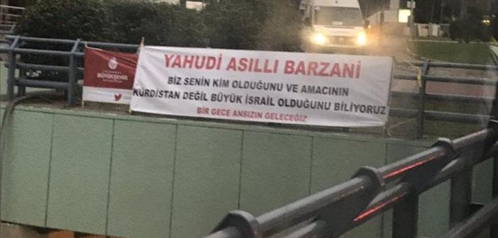 Balmumcu'daki antisemit pankart meclis gündeminde