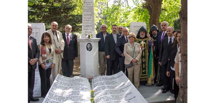 Bedros Turyan mezarı başında anıldı