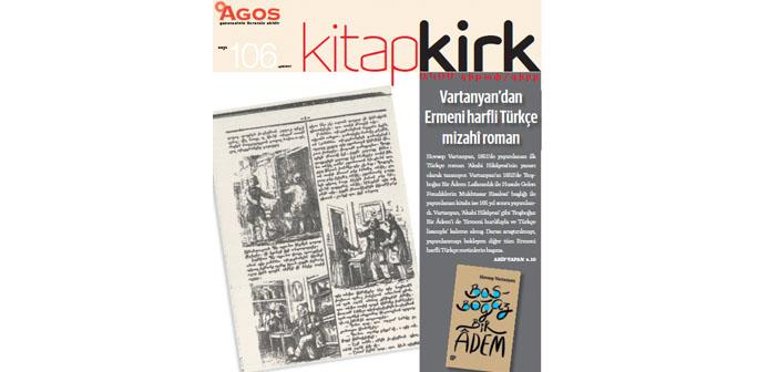 KİTAP/ԳԻՐՔ EYLÜL: Vartanyan'dan Ermeni harfli Türkçe mizahi roman