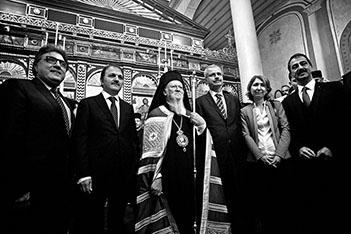 Edirnekapı Aya Yorgi Kilisesi kapılarını açtı