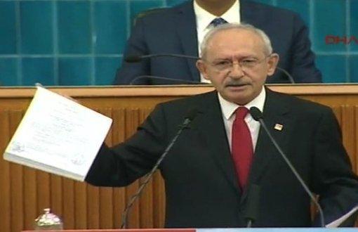 Kılıçdaroğlu, Erdoğan ailesinin para transferinin dekontlarını gösterdi