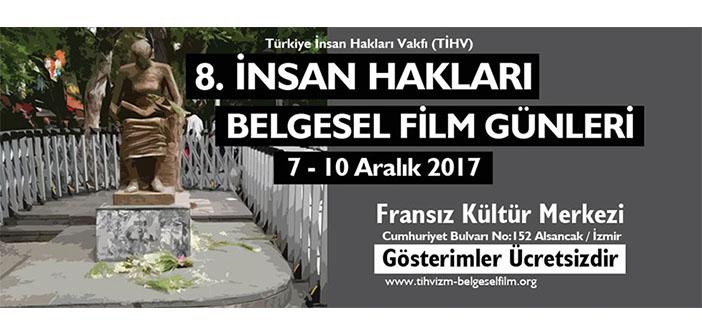 İnsan Hakları Belgesel Film Günleri İzmir'de başlıyor