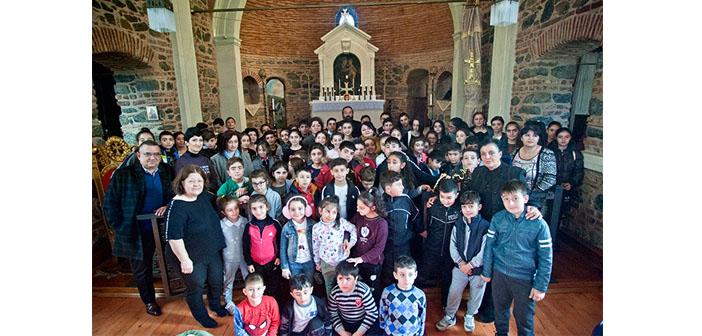 Boyacıköy Kilisesi'nde neşeli bir gün