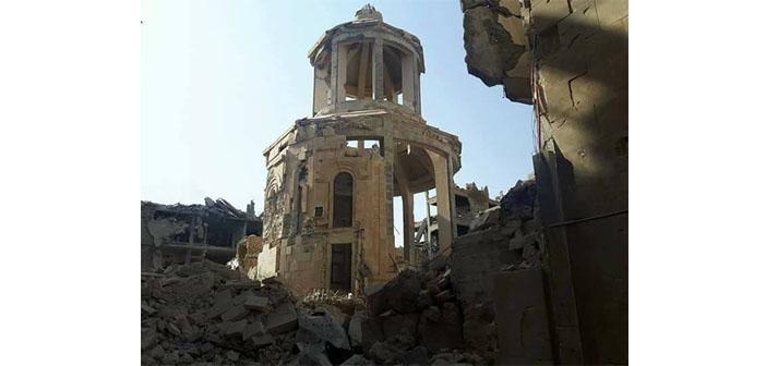 Der-Zor'daki kilise restore edilecek