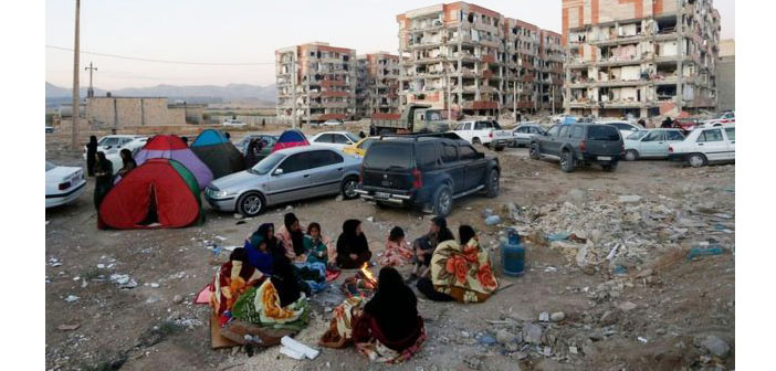 İran-Irak sınırındaki depremde can kaybı sayısı artıyor