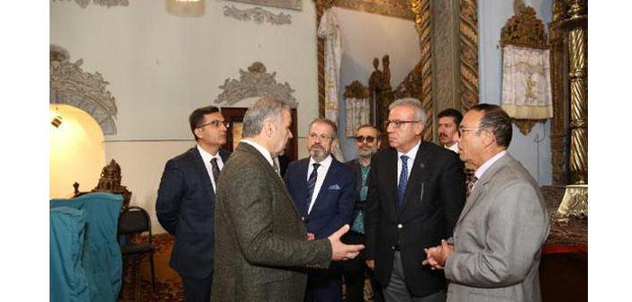 Kayseri Belediye Başkanı'ndan Surp Krikor Lusavoriç Kilisesi'ne ziyaret