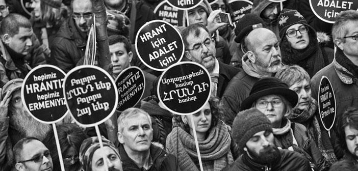 Hrant Dink anılıyor