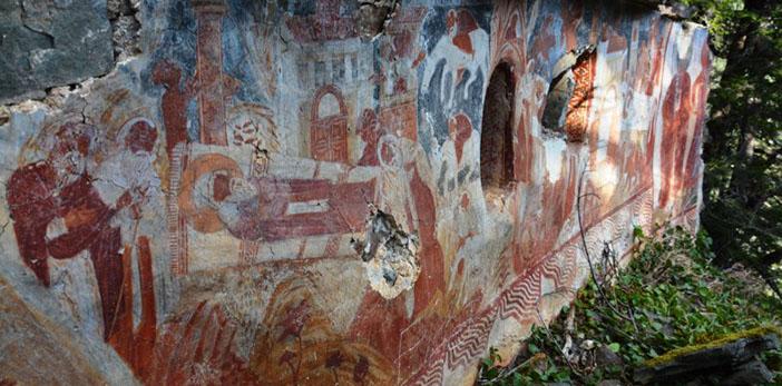 Sümela Manastırında yeni keşifler