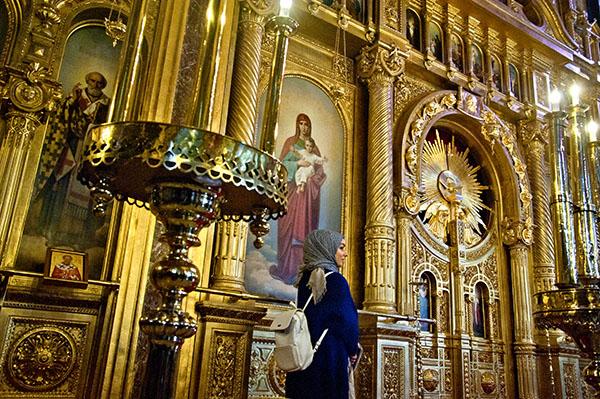 Benzersiz Sveti Stefan Kilisesi yedi sene sonra kapılarını