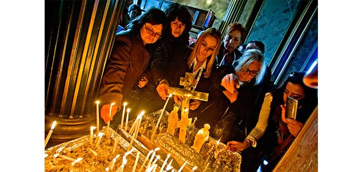 Benzersiz Sveti Stefan Kilisesi yedi sene sonra kapılarını açtı