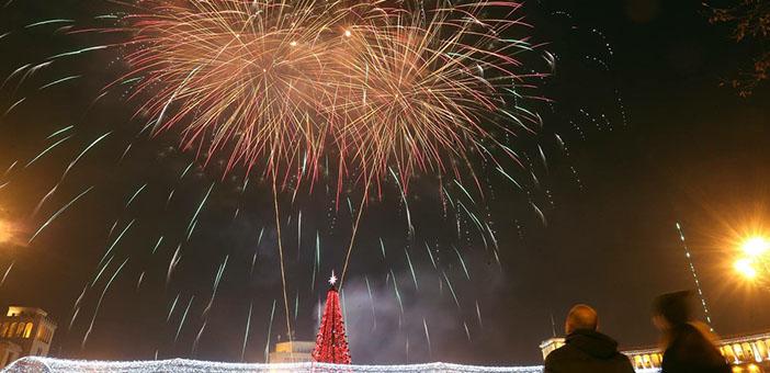 Ermenistan'da yeni yıl