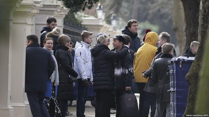 İngiltere'yi terk eden Rus diplomatlar, 20 Mart 2018