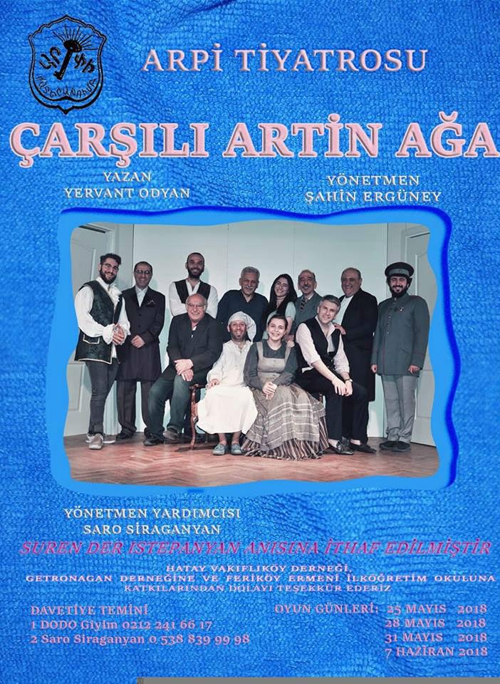 Arpi Tiyatro Topluluğu'ndan Ermenice oyun