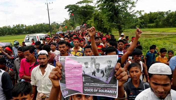 Rohingyaların ve Ezidilerin adalet arayışı sürüyor