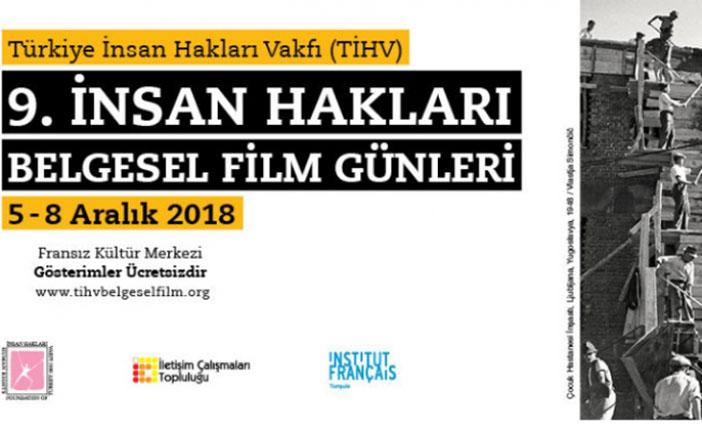 9. İnsan Hakları Belgesel Film Günleri başlıyor