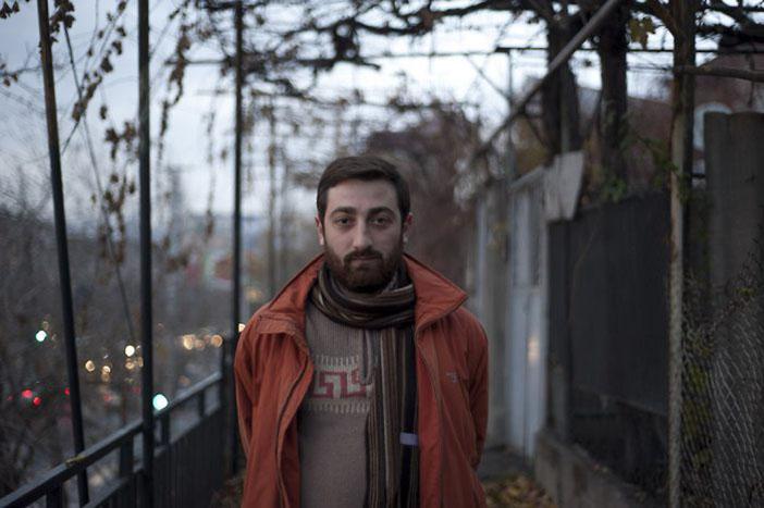 Hovhannes İşhanyan. Fotoğraf: Nazik Armenakyan