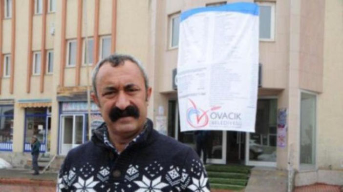 Ovacık'ın komünist başkanı Tunceli'ye aday