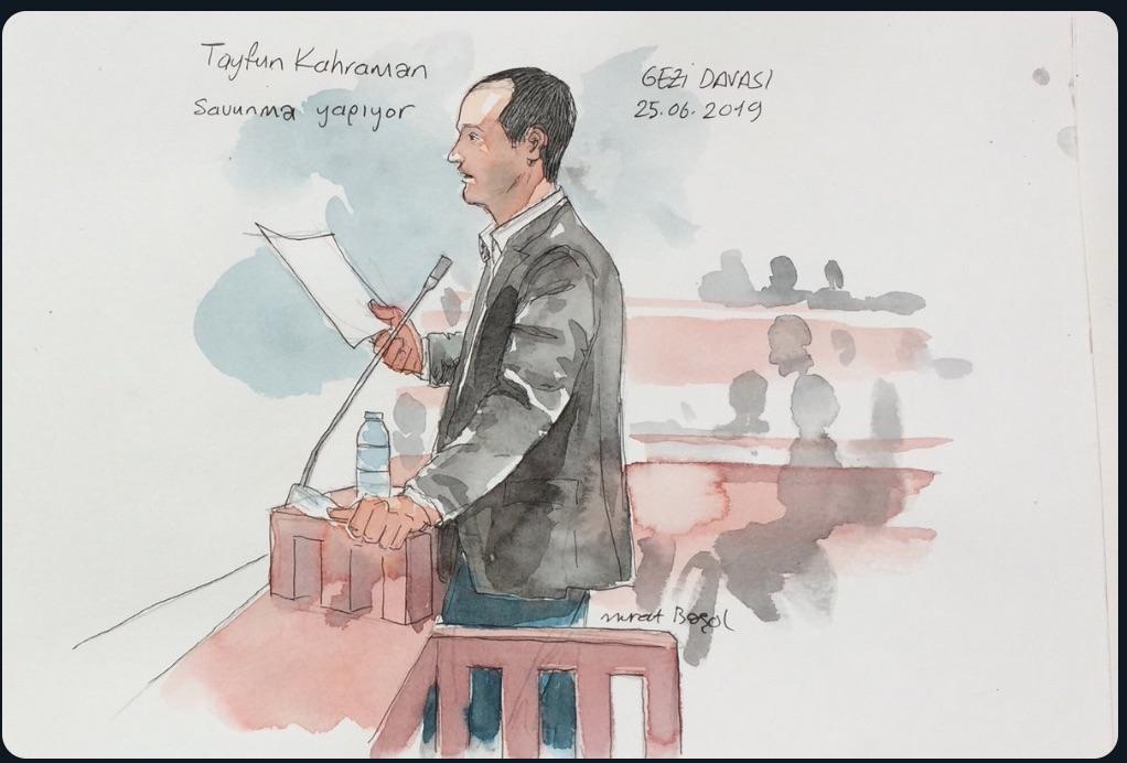 Gezi Davası'nın ikinci gününde savunmalar sürdü, iddianame eleştirildi