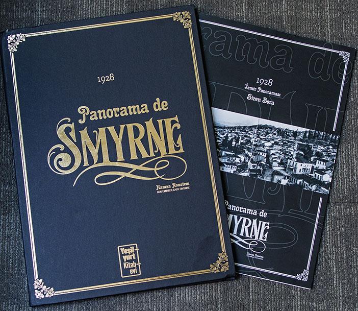 '1928 İzmir Panoraması' kitabı. Fotoğraf: İşhan Erdinç
