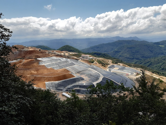 Fatsa'da altın madeni sahasının genişletilmesine tepki