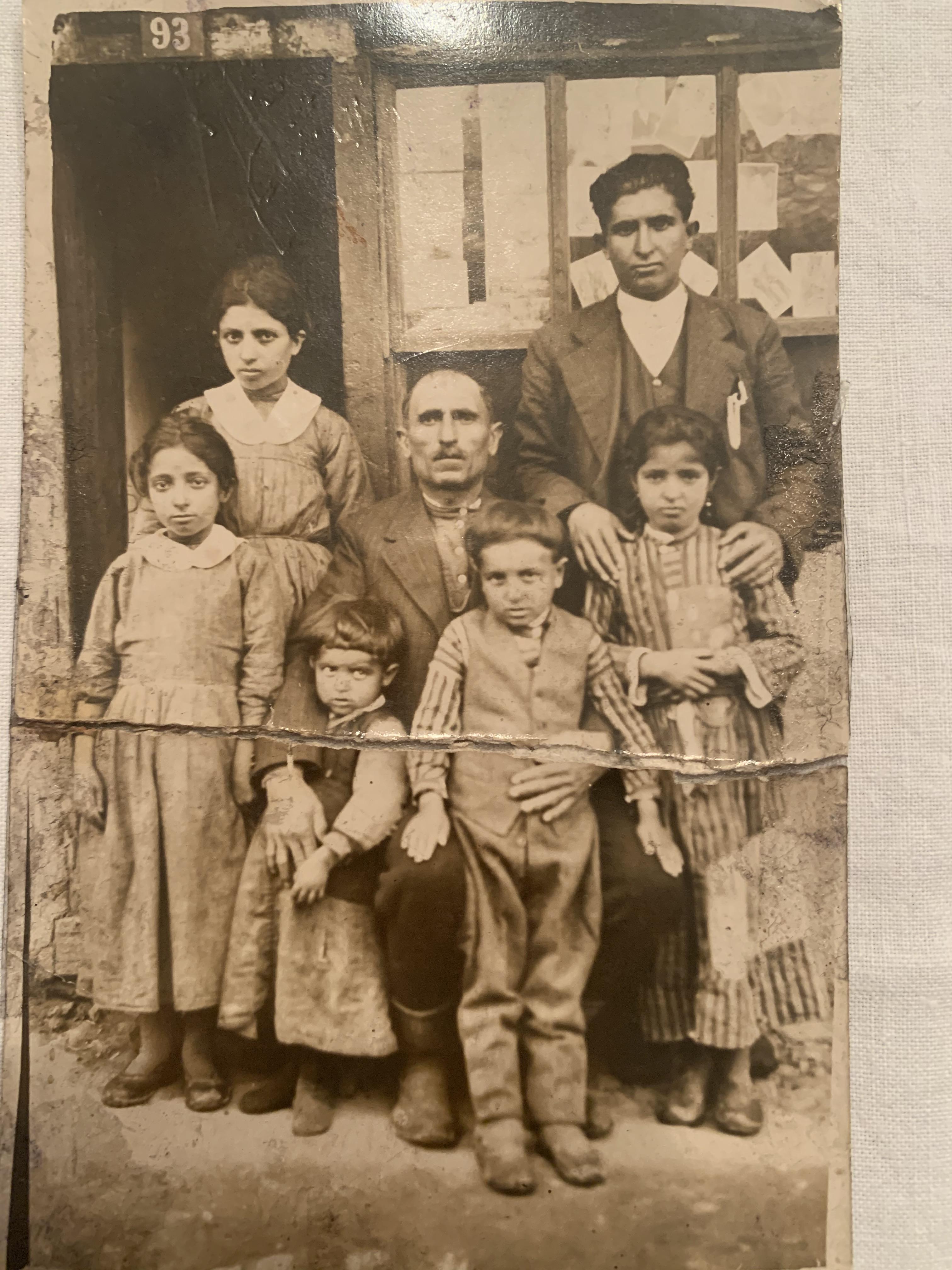 İbrahim- Khoren'in ailesi Kütahya