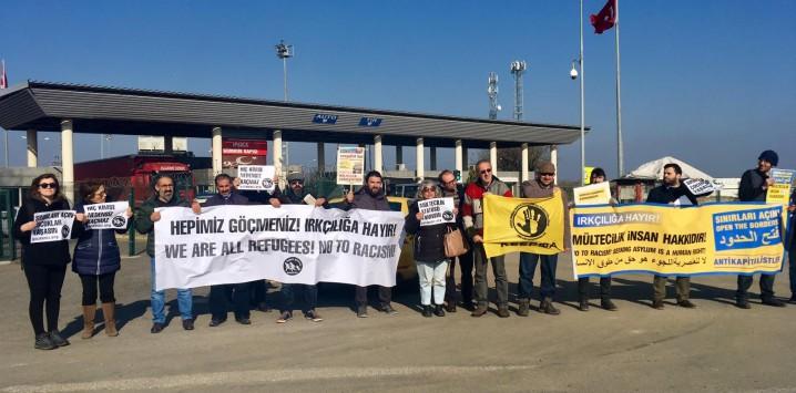 16 Mart'ta göçmenlerle dayanışma etkinlikleri