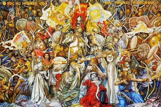 «Վարդանանց պատերազմը» Բարեկենդանի օրերին