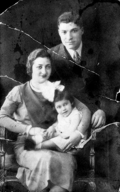Leon Bahar ,eşi Jenny Bahar ve kızları Tamar