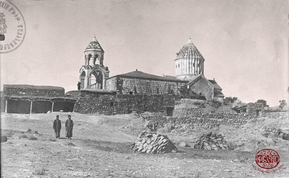 Manastırın geçtiğimiz yüzyıl başındaki durumu (Houshamadyan arşivi)