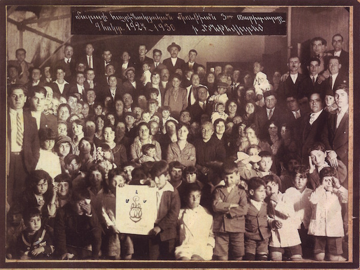 Montevideo'daki Maraş Hemşehri Derneği'nin kuruluşunun üçüncü yıldönümü, 1930