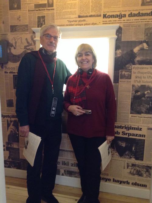 Michael Löwy ve Eleni Varikas 23,5 Hrant Dink Hafıza Mekanı'nda